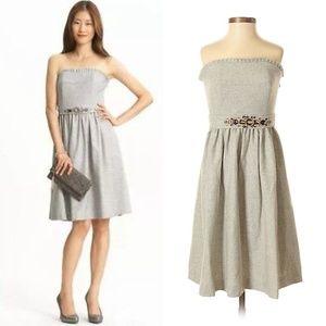 Banana Republic Strapless Wool Party Dress Size 0